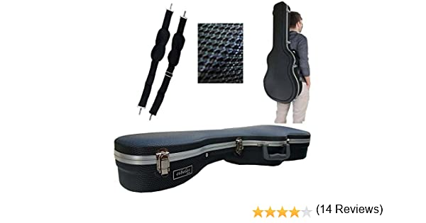 Estuche ABS para Guitarra Clásica, marca Cibeles (Azul Cuadritos): Amazon.es: Instrumentos musicales