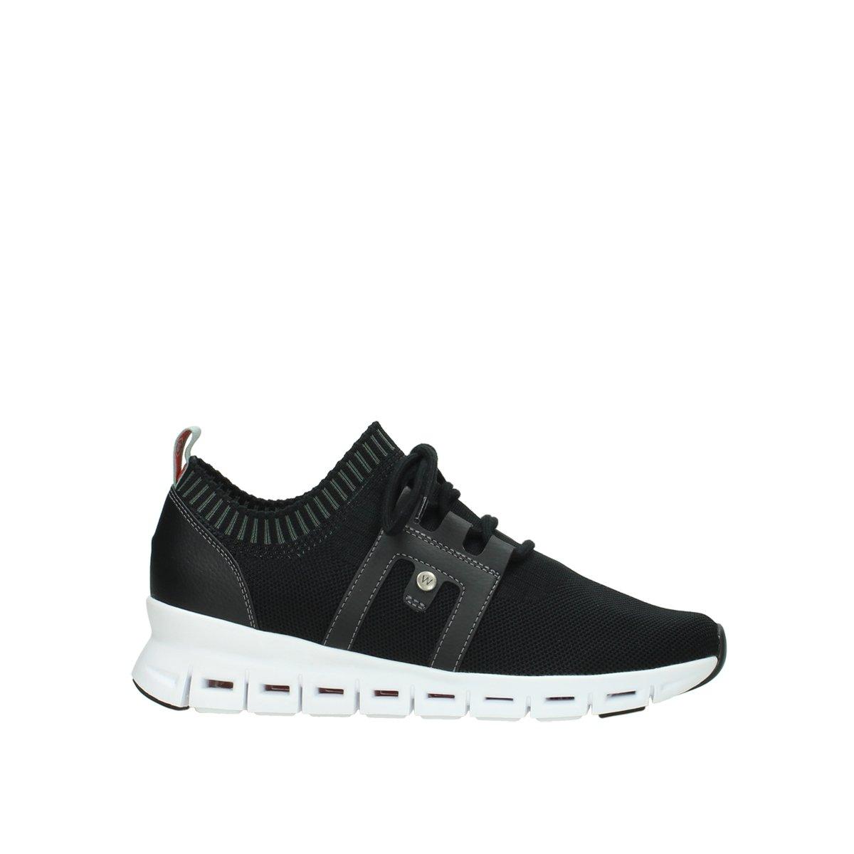 Wolky 02052-90000 - Zapatos de Cordones Para Mujer 40 EU|negro