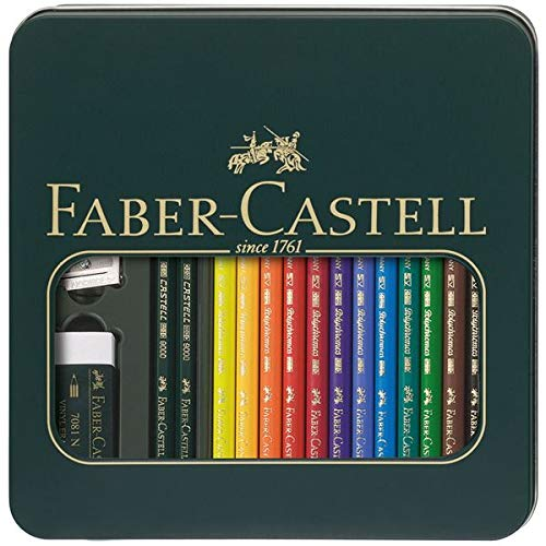 Faber-Castel 16 Piece Polychromous Mixed Media Colored for sale  Delivered anywhere in USA