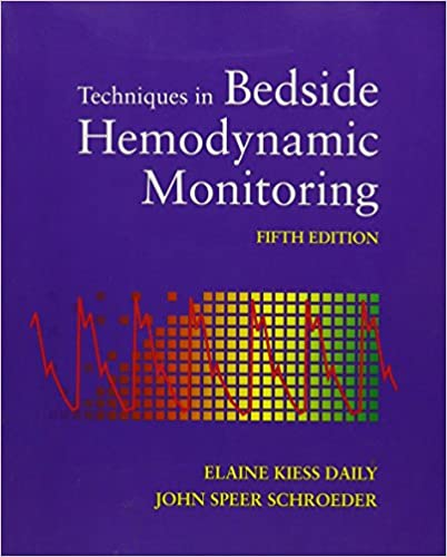 Techniques in Bedside Hemodynamic Monitoring