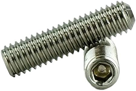 Socket Set Screws Cup Point 8-32 x 3//4 Stainless 8-32 x 3//4 Stainless Steel 50 Qty W//Hex Key Wrench 1//4 to 1 Available