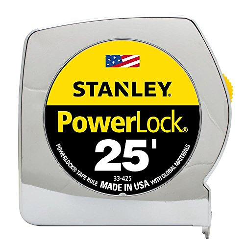 076174334258 - Stanley Powerlock 25ft Tape Rule carousel main 1
