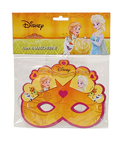 Ciao 29013.6 – Disney Frozen Halloween Face Masks Pack of
