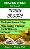 Reading order and checklist: Terry Brooks - Series read order: The Original Shannara Trilogy, Magic Kingdom of Landover and all others!