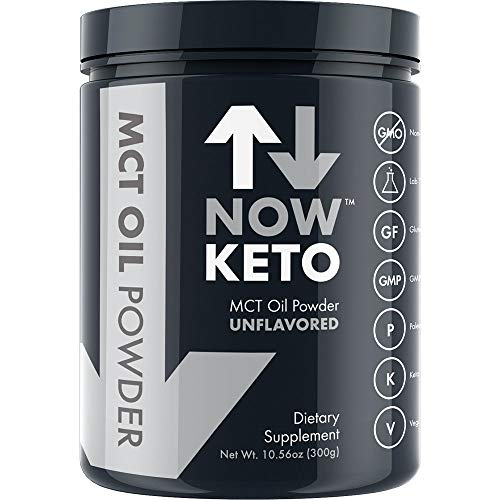NOWKETO® KetoMCT Oil Powder from Coconuts | Low Carb High F