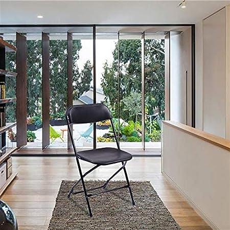 Amazon.com: Pack de 5 sillas plegables portátiles, color ...
