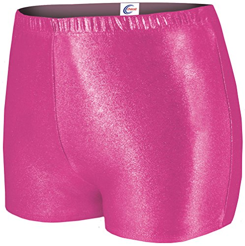 Metallic Boy Cut Cheerleading Briefs - Pink ()