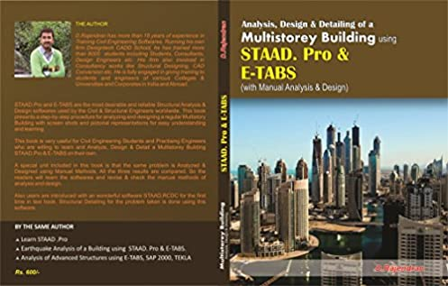 buy analysis design of a multistorey building using staad pro e rh amazon in Staad Logo staad steel design manual