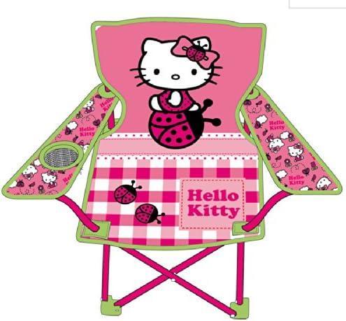 Hk7724 63 x 36 x 52 Cm Maison De Jardin Chaise Pliable De Camping Hello-Kitty ARDITEX
