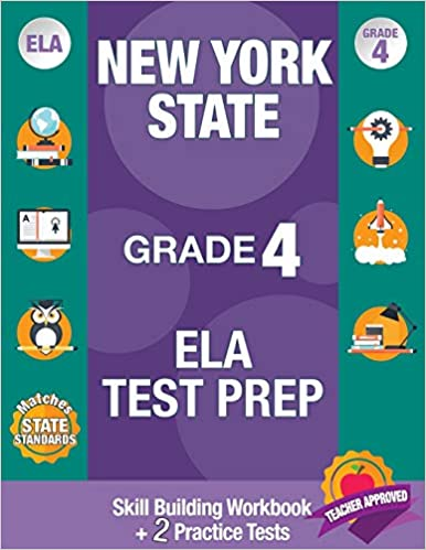 New York State Grade 4 ELA Test Prep New York