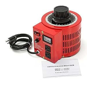 Anesty Variac Auto Transformer AC Variable Voltage Regulator Metered 2KVA 20Amp 0-130V