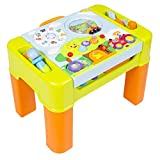 Kids Learning Activity Table With Quiz, Music, Lights, Shapes, Tools and More + FREE E - Book