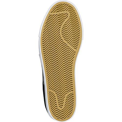 Nike Zoom Stefan Janoski Mens Skateboard Skor Svart / Vit / Gummi Ljusbrun / Svart