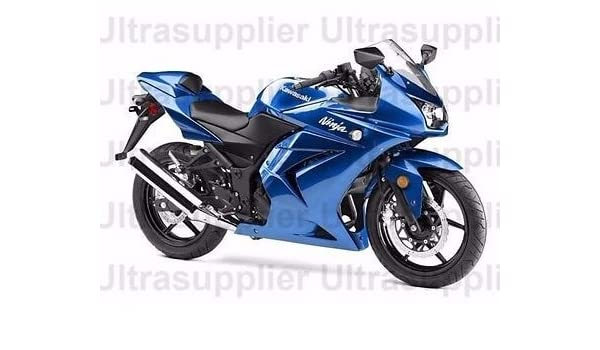 Amazoncom Blue Complete Injection Fairing For 2008 2012 Kawasaki