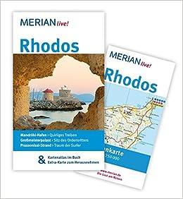 Strand Karte Rhodos.Rhodos Mandraìki Hafen Quirliges Treiben Grossmeisterpalast