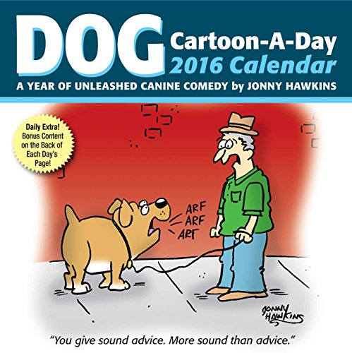 Dog Cartoon-A-Day 2016 Calendar: A Year of Unleashed Canine Comedy](Cats Page A Day Calendar 2015)