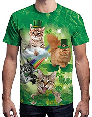 Arvilhill Men's St. Patrick's Day Irish Printed Funny T-Shirt