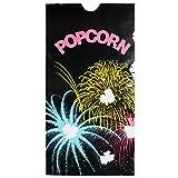 300448 4 1/4'' x 2 1/2'' x 8 1/4'' 46 oz. Funburst Design Popcorn Bag - 1000/Case By TableTop King