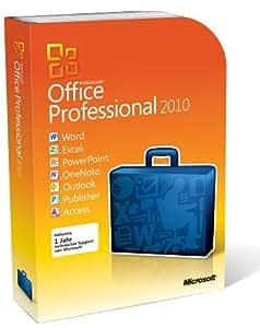 Microsoft Office Pro 2010 32-bit/X64 DVD (versión en alemán)