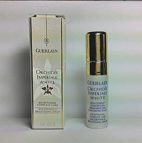 Guerlain Orchidee Imperiale White Age Defying and Brightening Serum 5ml x 6 bottles - Free worldwide shipping! - Guerlain Orchidee Imperiale Serum