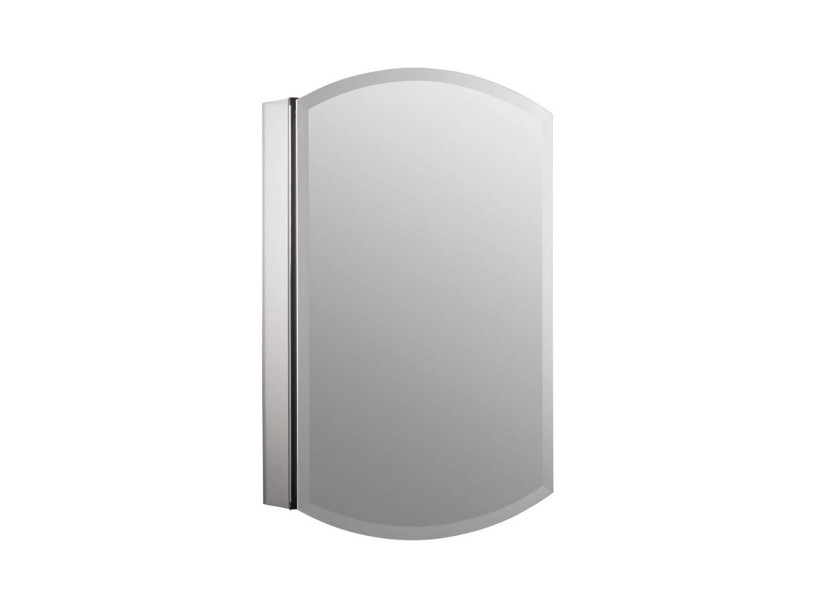 KOHLER K-3073-NA Archer Frameless 20 inch x 31 inch Aluminum Bathroom Medicine Cabinet; ; Recess or Surface Mount by Kohler