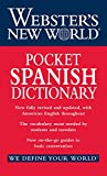 img - for Webster's New World Pocket Spanish Dictionary book / textbook / text book