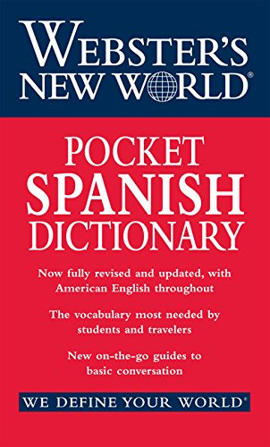 (Webster's New World Pocket Spanish Dictionary)