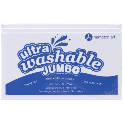 Hampton Art Blue Jumbo Washable