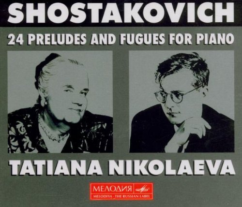 Shostakovich: 24 Preludes & Fugues for Piano, Op. 87 by Melodiya