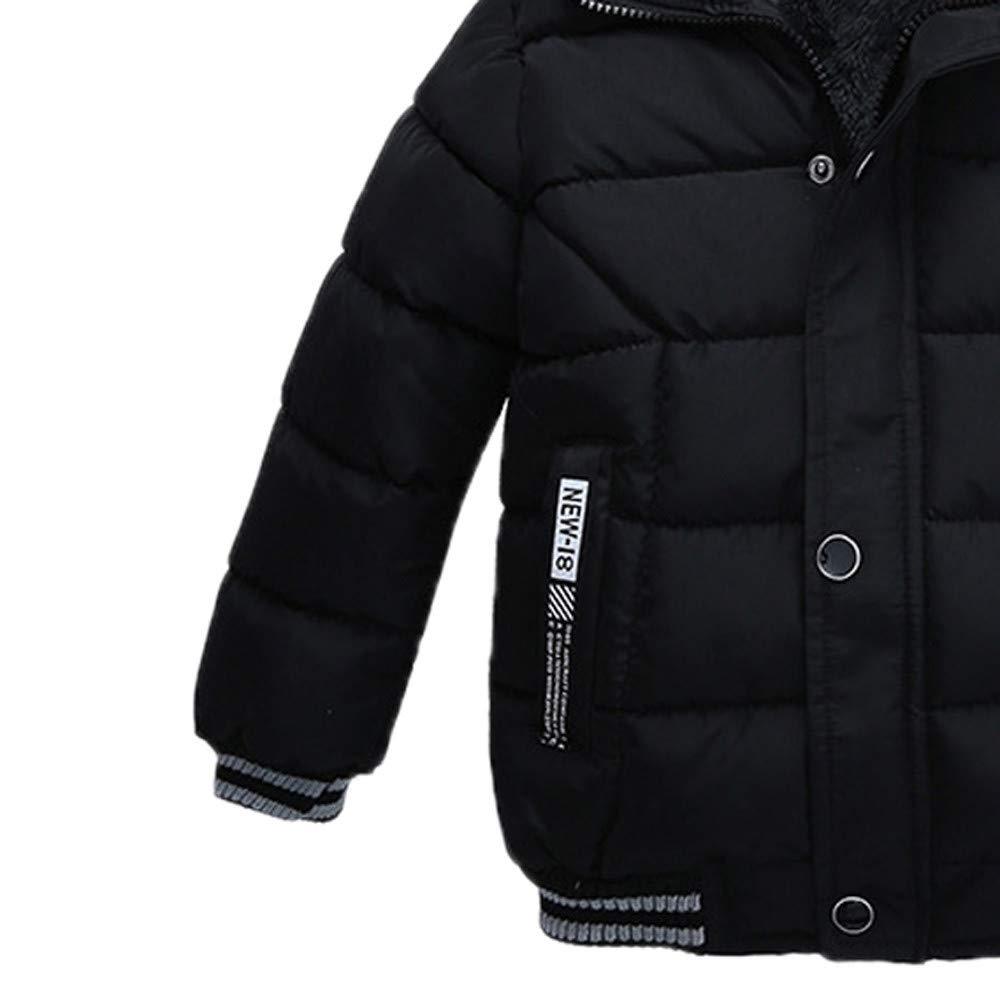 Kid Hooded Warm Snow Wear Overcoat RQWEIN Toddler Boy Girl Winter Clothes Hoodie Warm Coat 2-5 Years Windbreaker Jacket
