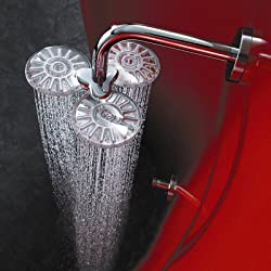 HansaClear Wall Mount Shower Head with Arm