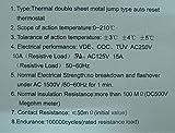 Electronics-Salon 10 PCS KSD301 Normally Close NC