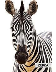 Zebra Notebook: Perfect for Notes, Memories and Planning (Journal, Diary), 100 Blank Lined Pages (6x9)