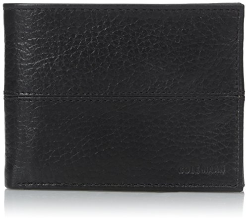 - Cole Haan Men's Slim Billfold, Black, One Size