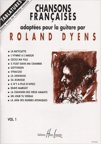 Livre gratuits Chansons françaises Volume 1 - guitare avec tablatures pdf