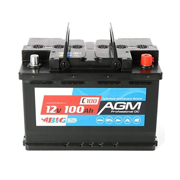 51LrFwt40QL BIG AGM Batterie 100Ah C100 12V Solarbatterie Versorgungsbatterie Mover Bootsbatterie