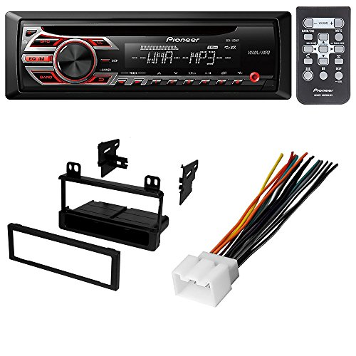 CAR STEREO RADIO CD PLAYER RECEIVER INSTALL MOUNT KIT HARNESS FORD LINCOLN MERCURY 1998 1999 2000 2001 2002 2003 2004 2005 2006 2007 2008 2009 2010 2011