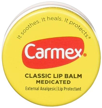 Carmex Classic Lip Balm Medicated 0.25 oz Pack of 12