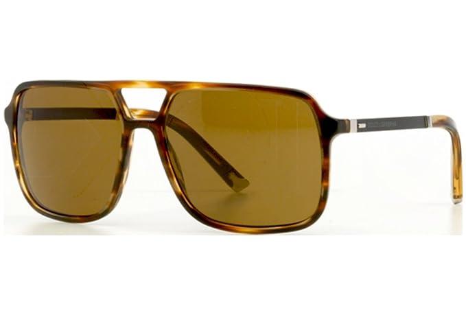 Dolce & Gabbana DG4242, Gafas de Sol para Hombre, Marrón ...