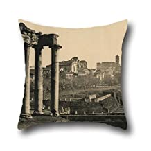 oil painting Braun, Clément Co. (French, active 1877 - 1928) - The Roman Forum pillowcover 16 x 16 inches / 40 by 40 cm for her,teens boys,festival,lounge,lover,kids room with 2 sides