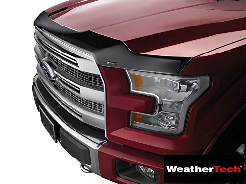 Weathertech (WEA104017-HR) Low Profile Aerodynamic Hood Protector Dark Smoke - fits Honda Accord Sedan ()