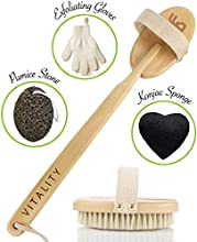 """""""I would have never thought dry brushing one's skin could make such a huge improvement. I'm only into this one week today and I'm in awe over how smooth my skin is. It actually feels younger and it glows.""""""""Amazing brush! Feeling energized, sl..."""