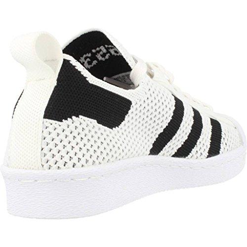 Adidas Superstar 80's Primeknit Slip-On Mujer Zapatillas Blanco Blanco