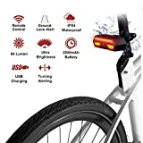 Bike Tail Light with Turn Signals-Wireless Remote