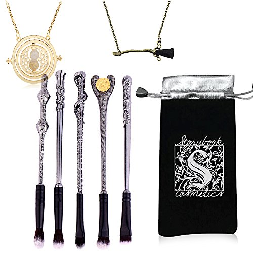 Wizard Wand Potter Makeup Brushes, 5 Set Beauty Tools Eye Ey