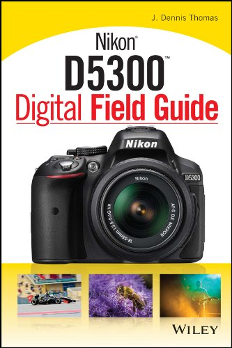 Everything you need to know to take amazing photographs using your new DSLR The Nikon D5300 Digital Field Guide is filled with everything you need to know to take fantastic photos with your new Nikon. In full color, this portable guide covers all of ...