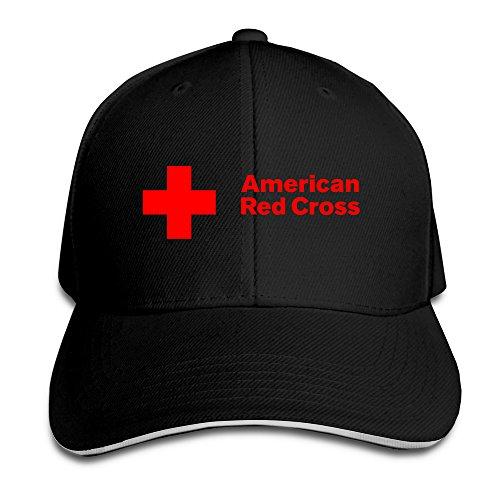 avenox-american-red-cross-arc-adjustable-unisex-fitted-hat-cap-black