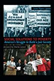 img - for Social Solutions to Poverty (Great Barrington Books) book / textbook / text book