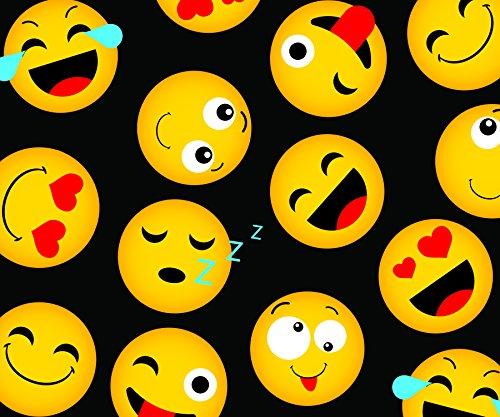 Best blanket emoji for sale 2016 best gifts for husband blog for Emoji fabric
