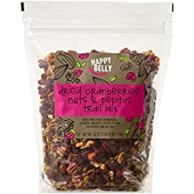 Amazon Brand - Happy Belly Dried Cranberries, Nuts & Pepitas Trail Mix, 42 ounce